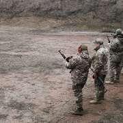 Залікові стрільби працівників ДФС та спецпідрозділу «Фантом»
